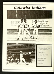 Page 64, 1987 Edition, Catawba College - Sayakini / Swastika Yearbook (Salisbury, NC) online yearbook collection