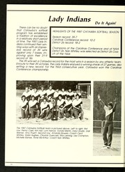 Page 66, 1987 Edition, Catawba College - Sayakini / Swastika Yearbook (Salisbury, NC) online yearbook collection
