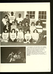 Page 71, 1987 Edition, Catawba College - Sayakini / Swastika Yearbook (Salisbury, NC) online yearbook collection