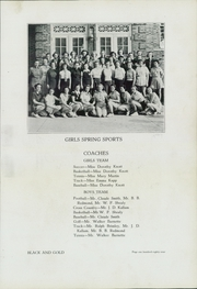 Page 191, 1937 Edition, North High School - Black and Gold Yearbook (Winston Salem, NC) online yearbook collection