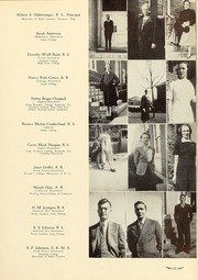 Page 15, 1939 Edition, South High School - Black and Gold Yearbook (Winston Salem, NC) online yearbook collection