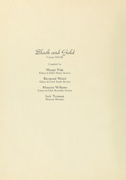 Page 8, 1939 Edition, South High School - Black and Gold Yearbook (Winston Salem, NC) online yearbook collection