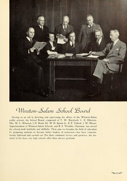 Page 9, 1939 Edition, South High School - Black and Gold Yearbook (Winston Salem, NC) online yearbook collection