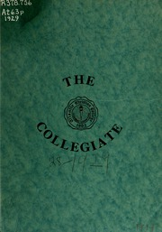 Page 1, 1929 Edition, Atlantic Christian College - Pine Knot Yearbook (Wilson, NC) online yearbook collection
