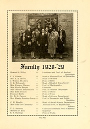 Page 11, 1929 Edition, Atlantic Christian College - Pine Knot Yearbook (Wilson, NC) online yearbook collection