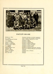 Page 11, 1932 Edition, Atlantic Christian College - Pine Knot Yearbook (Wilson, NC) online yearbook collection