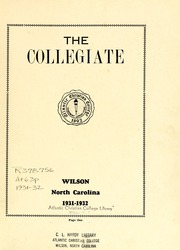 Page 3, 1932 Edition, Atlantic Christian College - Pine Knot Yearbook (Wilson, NC) online yearbook collection