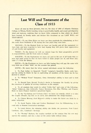 Page 16, 1933 Edition, Atlantic Christian College - Pine Knot Yearbook (Wilson, NC) online yearbook collection