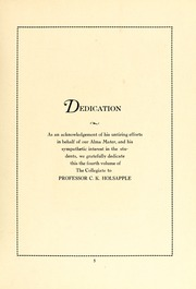 Page 7, 1933 Edition, Atlantic Christian College - Pine Knot Yearbook (Wilson, NC) online yearbook collection