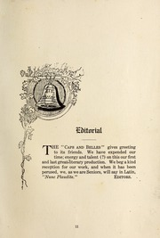 Page 17, 1903 Edition, Elizabeth College - Caps and Belles Yearbook (Charlotte, NC) online yearbook collection