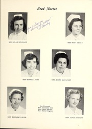 Page 11, 1955 Edition, James Walker Memorial Hospital School of Nursing - Triangle Yearbook (Wilmington, NC) online yearbook collection