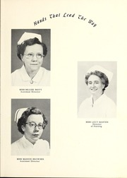 Page 9, 1955 Edition, James Walker Memorial Hospital School of Nursing - Triangle Yearbook (Wilmington, NC) online yearbook collection
