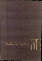 1969 Edition, Wingate University - Gate Yearbook (Wingate, NC)