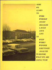Page 13, 1968 Edition, Piedmont Bible College - Fanal Yearbook (Winston Salem, NC) online yearbook collection
