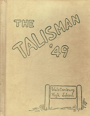 Walstonburg High School - Talisman Yearbook (Walstonburg, NC) online yearbook collection, 1949 Edition, Page 1