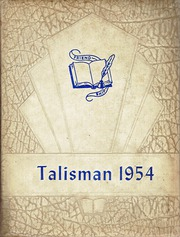 Walstonburg High School - Talisman Yearbook (Walstonburg, NC) online yearbook collection, 1954 Edition, Page 1