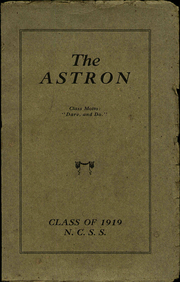 North Carolina State School for the Blind - Astron Yearbook (Raleigh, NC) online yearbook collection, 1919 Edition, Page 1