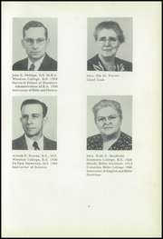 Page 11, 1950 Edition, Ben Lippen School - Challenge Yearbook (Asheville, NC) online yearbook collection