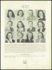 Page 13, 1948 Edition, Fuquay Springs High School - Greenbriar Yearbook (Fuquay Springs, NC) online yearbook collection