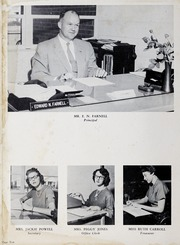 Page 14, 1958 Edition, Fuquay Springs High School - Greenbriar Yearbook (Fuquay Springs, NC) online yearbook collection