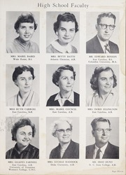 Page 15, 1958 Edition, Fuquay Springs High School - Greenbriar Yearbook (Fuquay Springs, NC) online yearbook collection