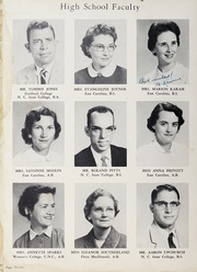 Page 16, 1958 Edition, Fuquay Springs High School - Greenbriar Yearbook (Fuquay Springs, NC) online yearbook collection