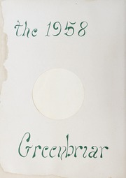 Page 6, 1958 Edition, Fuquay Springs High School - Greenbriar Yearbook (Fuquay Springs, NC) online yearbook collection
