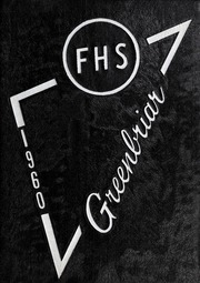 Page 1, 1960 Edition, Fuquay Springs High School - Greenbriar Yearbook (Fuquay Springs, NC) online yearbook collection
