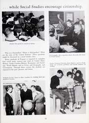 Page 15, 1960 Edition, Fuquay Springs High School - Greenbriar Yearbook (Fuquay Springs, NC) online yearbook collection