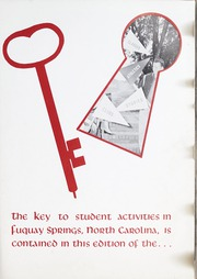 Page 5, 1961 Edition, Fuquay Springs High School - Greenbriar Yearbook (Fuquay Springs, NC) online yearbook collection