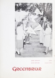 Page 7, 1961 Edition, Fuquay Springs High School - Greenbriar Yearbook (Fuquay Springs, NC) online yearbook collection