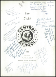 Page 5, 1955 Edition, Central Junior High School - Lions Paw Yearbook (Greensboro, NC) online yearbook collection