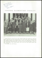 Page 9, 1955 Edition, Central Junior High School - Lions Paw Yearbook (Greensboro, NC) online yearbook collection