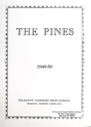 Page 3, 1950 Edition, Pleasant Gardens School - Pines Yearbook (Marion, NC) online yearbook collection