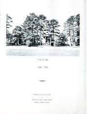 Page 4, 1950 Edition, Pleasant Gardens School - Pines Yearbook (Marion, NC) online yearbook collection