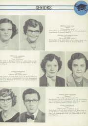 Page 11, 1952 Edition, Coleridge High School - Magnolia Yearbook (Coleridge, NC) online yearbook collection