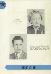 Page 7, 1952 Edition, Coleridge High School - Magnolia Yearbook (Coleridge, NC) online yearbook collection