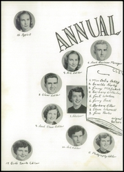 Page 10, 1954 Edition, Cleveland High School - Clevana Yearbook (Cleveland, NC) online yearbook collection