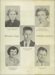 Page 14, 1957 Edition, Whitakers High School - Whitonian Yearbook (Whitakers, NC) online yearbook collection