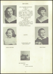 Page 15, 1953 Edition, South Fork High School - Treasure Chest Yearbook (Winston Salem, NC) online yearbook collection