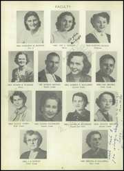 Page 8, 1953 Edition, South Fork High School - Treasure Chest Yearbook (Winston Salem, NC) online yearbook collection