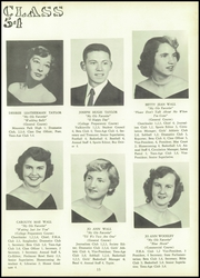 Page 17, 1954 Edition, South Fork High School - Treasure Chest Yearbook (Winston Salem, NC) online yearbook collection