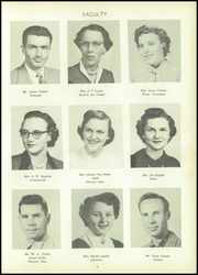 Page 9, 1954 Edition, South Fork High School - Treasure Chest Yearbook (Winston Salem, NC) online yearbook collection