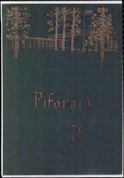 1979 Edition, Pine Forest Junior High School - Piforaid Yearbook (Fayetteville, NC)