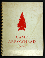 1958 Edition, Camp Arrowhead - Yearbook (Tuxedo, NC)