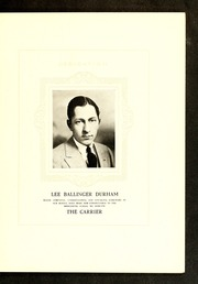 Page 9, 1926 Edition, Middleburg High School - Carrier Yearbook (Middleburg, NC) online yearbook collection