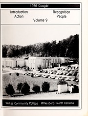 Page 5, 1976 Edition, Wilkes Community College - Cougar Yearbook (Wilkesboro, NC) online yearbook collection