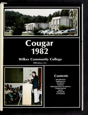 Page 5, 1982 Edition, Wilkes Community College - Cougar Yearbook (Wilkesboro, NC) online yearbook collection