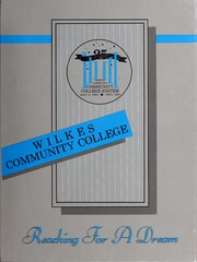 Page 1, 1988 Edition, Wilkes Community College - Cougar Yearbook (Wilkesboro, NC) online yearbook collection