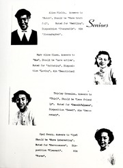 Page 11, 1951 Edition, Hudgins High School - Crusader Yearbook (Marion, NC) online yearbook collection